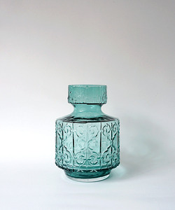 Blue glass vase(정상가 28,000원)