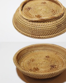Rattan tray_A