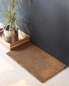 Coconut door mat